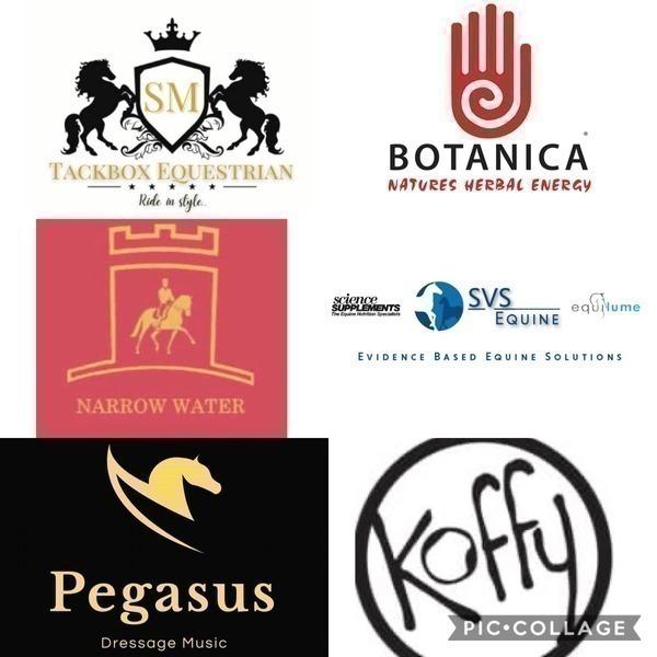 Botanica, Koffy, SVS Equine, Tackbox Equestrian, Pegasus Dressage Music